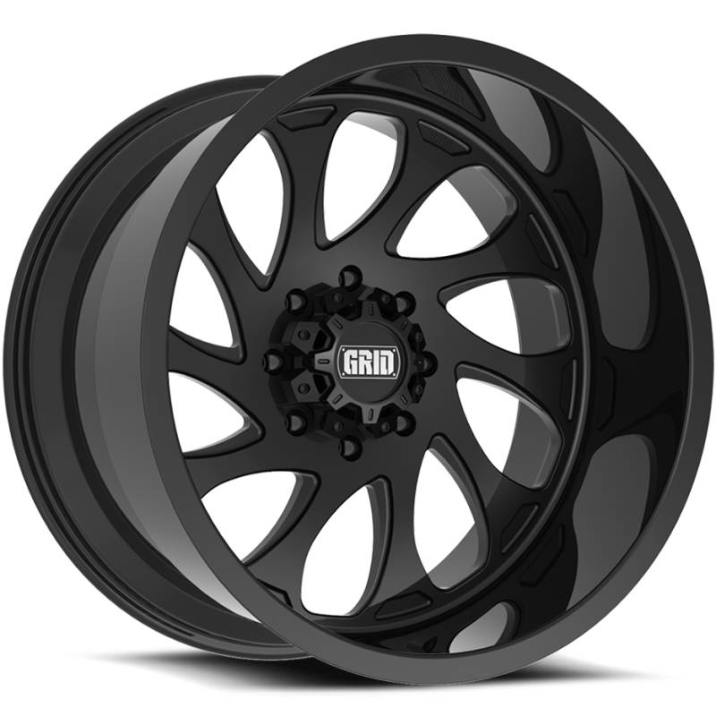 Grid Off Road Wheels GF-M10 Black Wheels