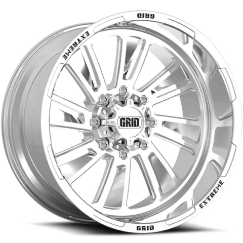 Grid Off Road Wheels GF-M11 Polished Wheels