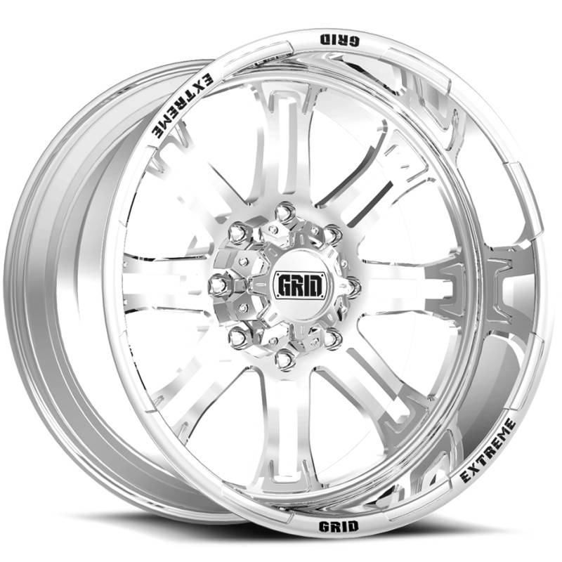 Grid Off Road Wheels GF-M14 Polished Wheels
