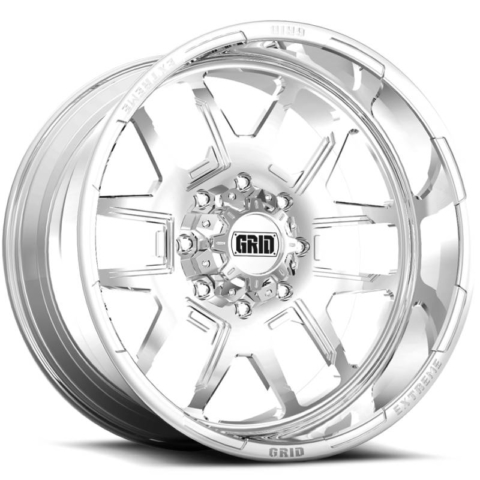 Grid Off Road Wheels GF-M15 Polished Wheels