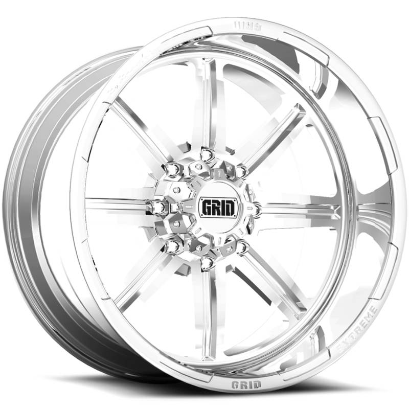 Grid Off Road Wheels GF-M16 Polished Wheels