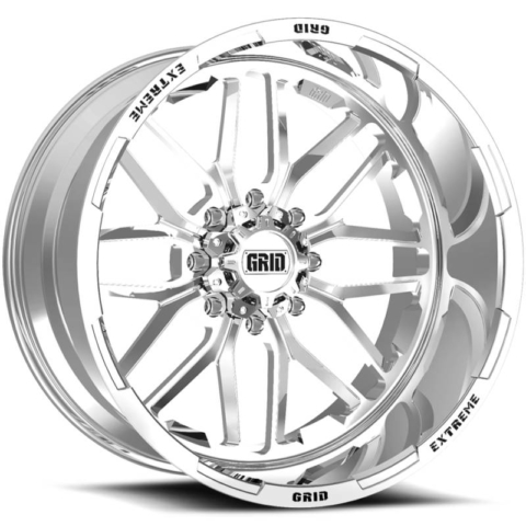 Grid Off Road Wheels GF-M2 Polished Wheels