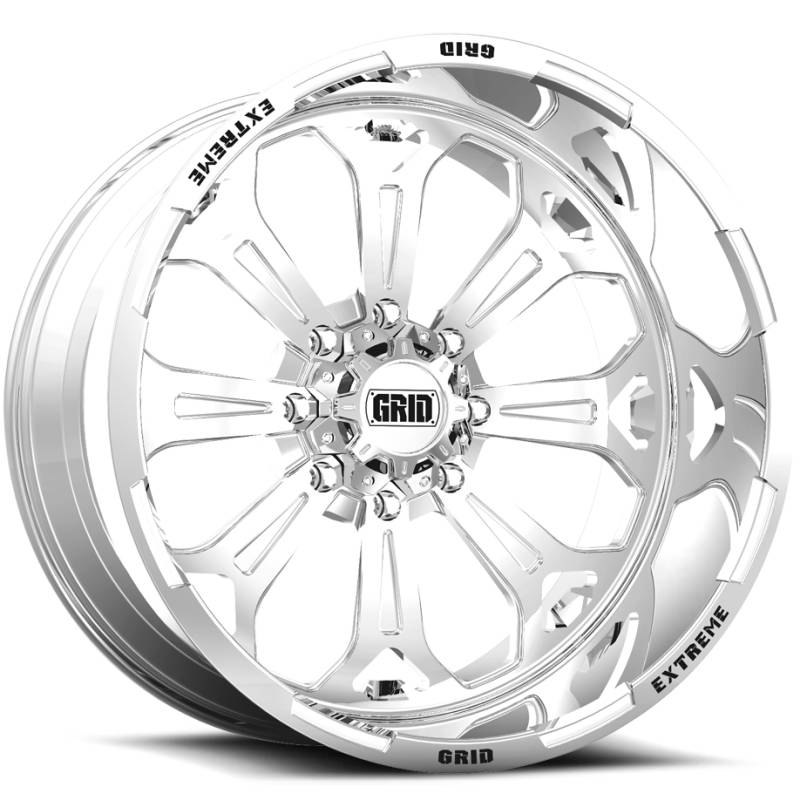 Grid Off Road Wheels GF-M3 Polished Wheels