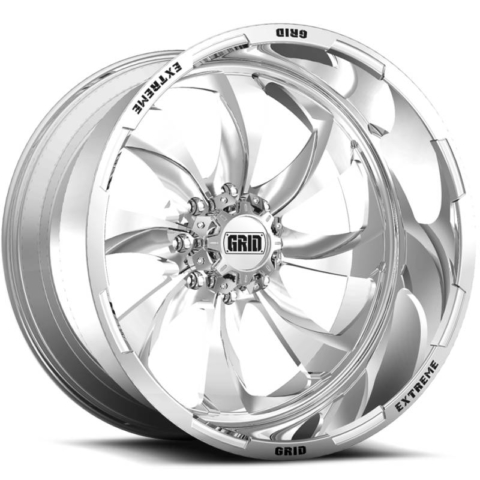 Grid Off Road Wheels GF-M4 Polished Wheels