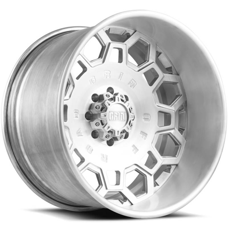 Grid Off Road Wheels GF0 Brushed