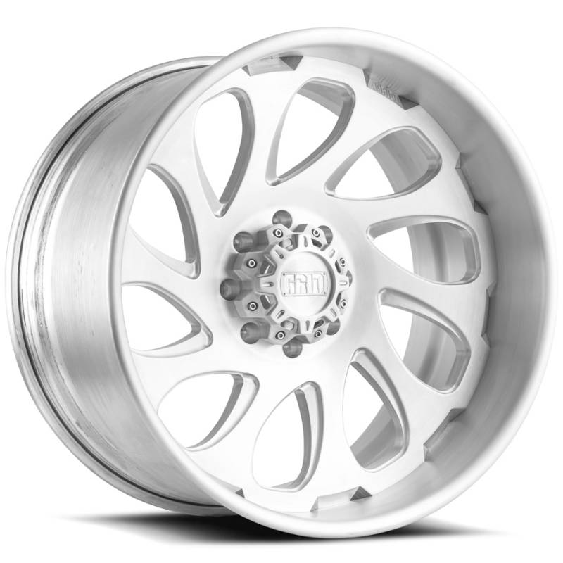 Grid Off Road Wheels GF10 Brushed