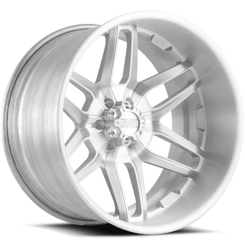 Grid Off Road Wheels GF2 6-Lug Brushed