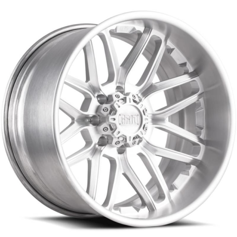 Grid Off Road Wheels GF2 8-Lug Brushed