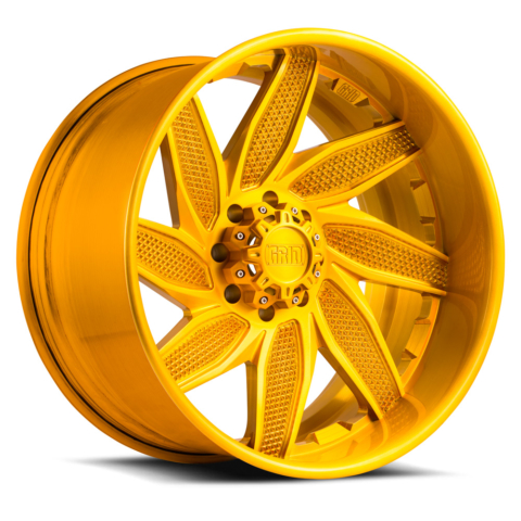 Grid Off Road Wheels GF6 Brushed Gold