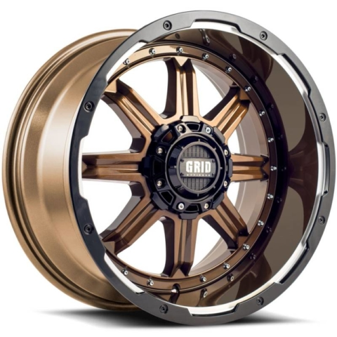 Grid Off Road Wheels GD-10 Gloss Bronze