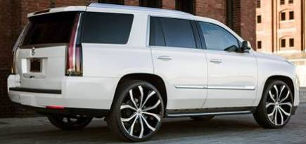 Lexani Lust Wheels for Cadillac Escalade