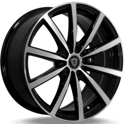 G-Line G0013 Satin Black Machined Wheels