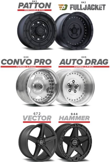 New Center Line Wheels Coming Soon