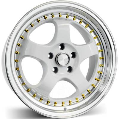 ERS SR06 White Wheels
