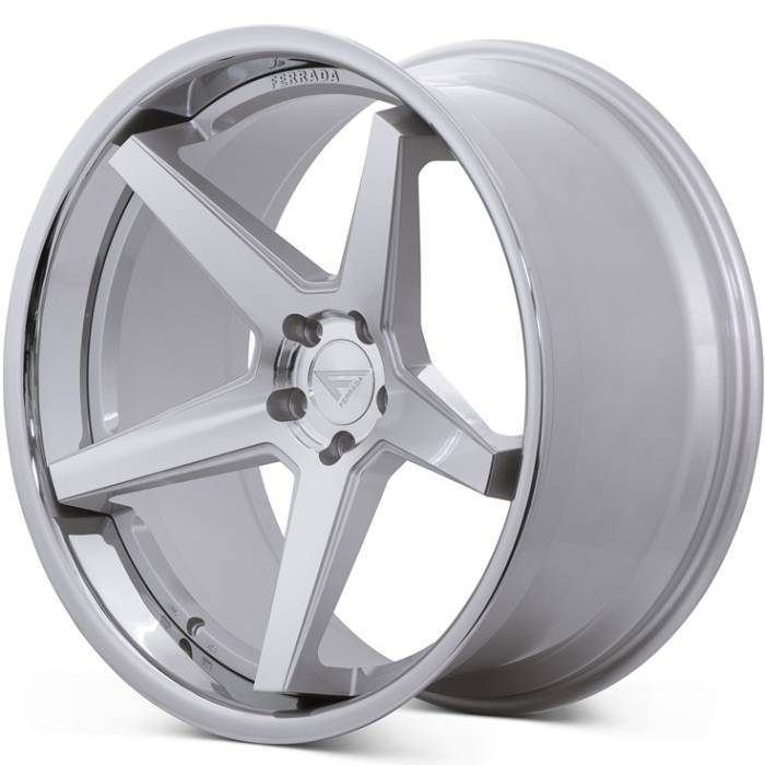 Ferrada Wheels FR3 Brushed with Chrome Lip