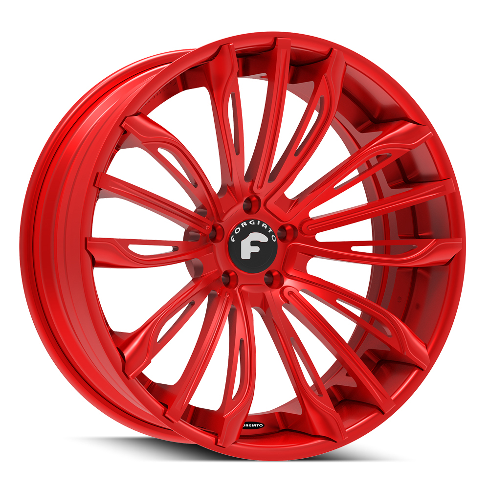 Forgiato Montare Red Wheels