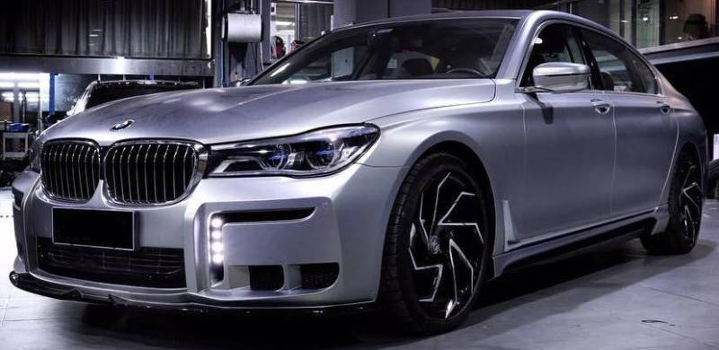 Lexani Cyclone Wheels on BMW 7 Series