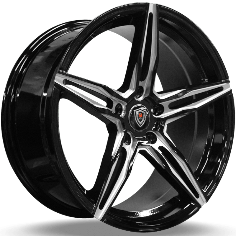 Marquee M.8888 Black Milled Wheels