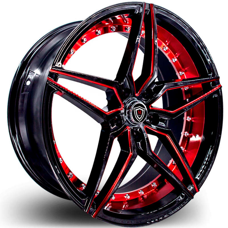 M3259 Black and Red