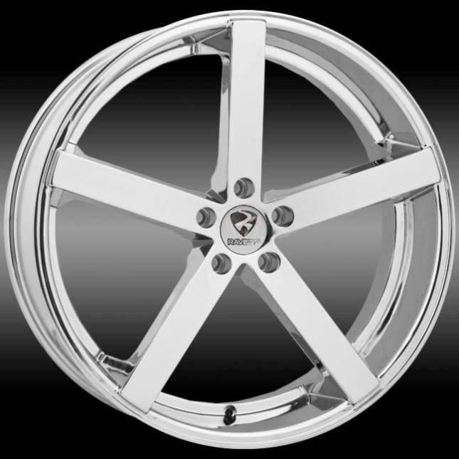 Ravetti M2 Chrome Wheels
