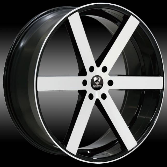 Ravetti M3 Machine Black Wheels