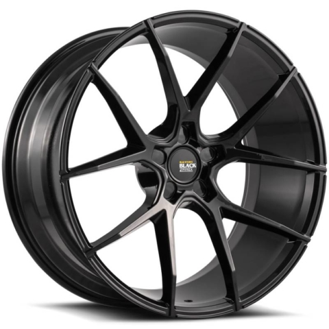 Savini Black Di Forza BM14 Gloss Black Wheels