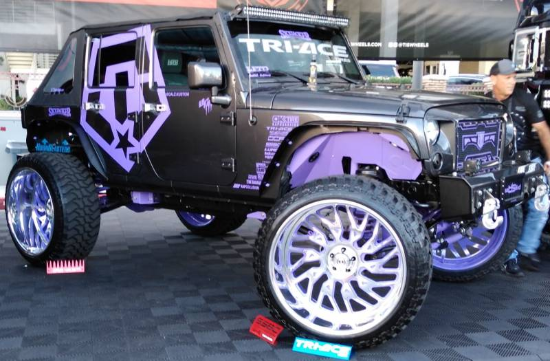 TIS Forged Wheels for Custom Jeeps