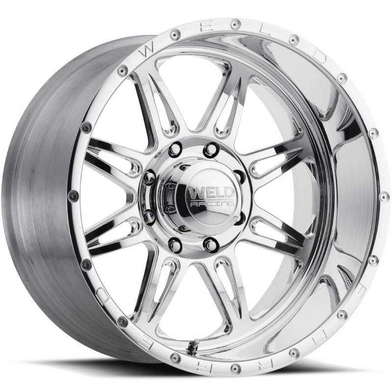 Weld Racing Cheyenne 8 Polished Wheels