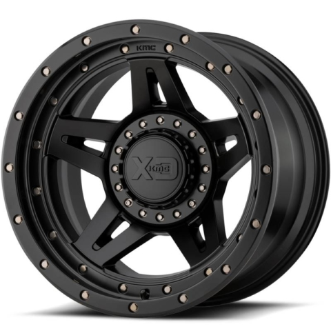 XD Series XD138 Brute Satin Black Wheels