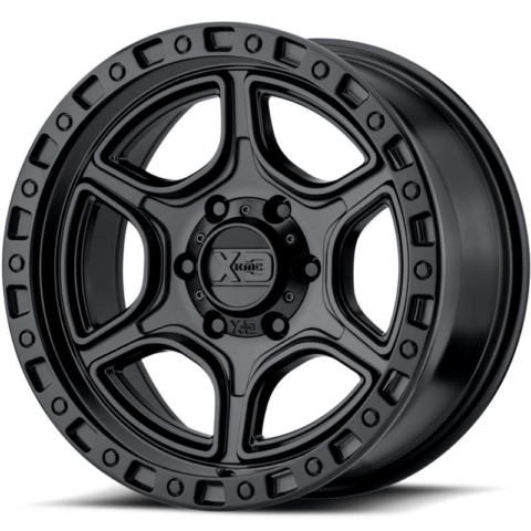 XD Series XD139 Portal Satin Black Wheels