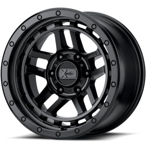 XD Series XD140 Recon Satin Black Wheels
