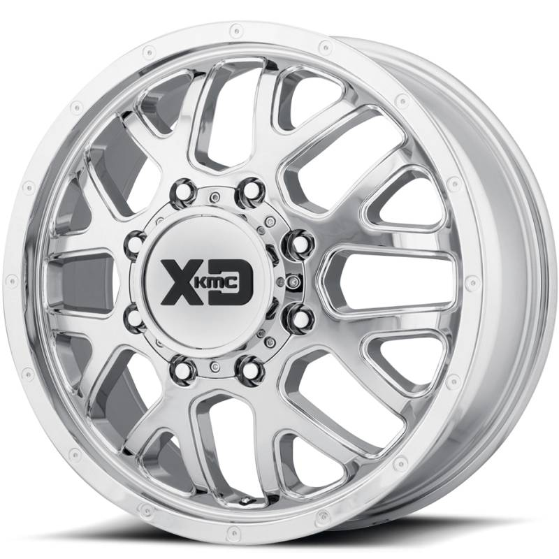 XD Series XD843 Grenade Chrome Dually Front