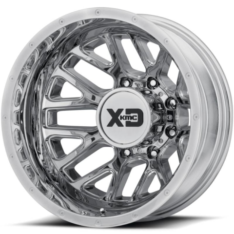 XD Series XD843 Grenade Chrome Dually Rear