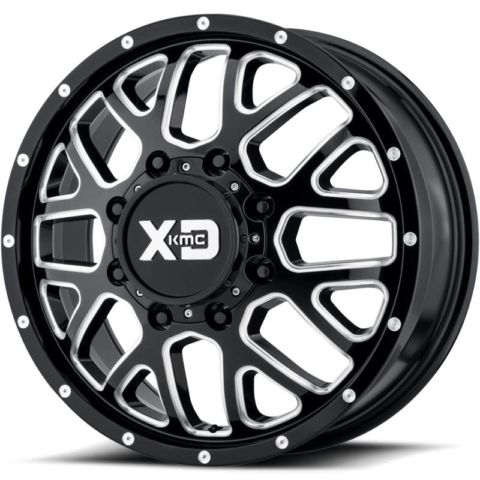 XD Series XD843 Grenade Gloss Black Milled Dually Front