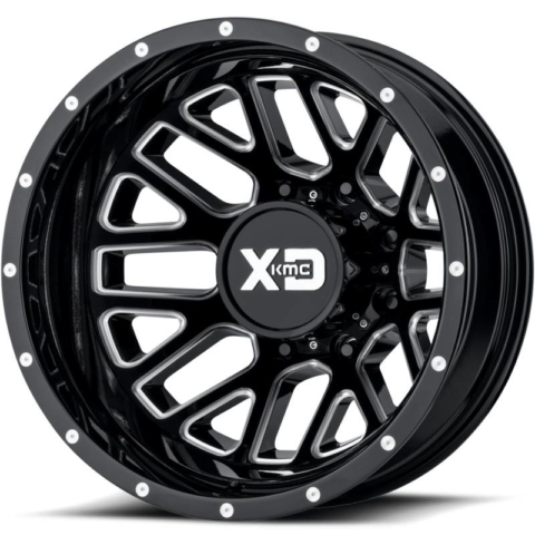 XD Series XD843 Grenade Gloss Black Milled Dually Rear