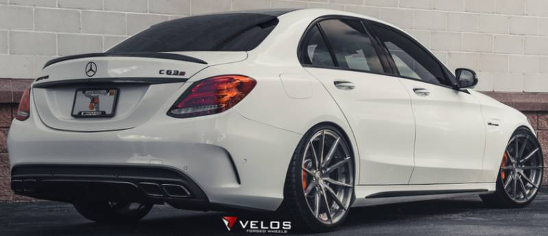 Mercedes Benz AMG C63S on Velos S10 Forged Wheels