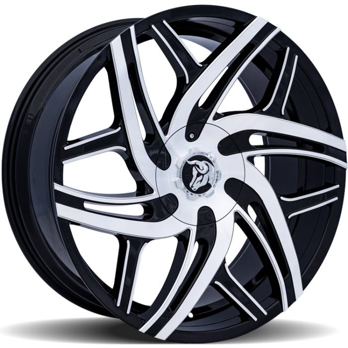 Diablo Hurricane Machine Black Wheels