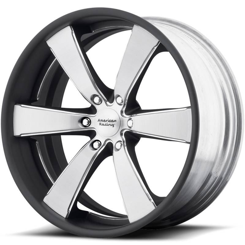 American Racing VN476 Slate Brushed Wheels