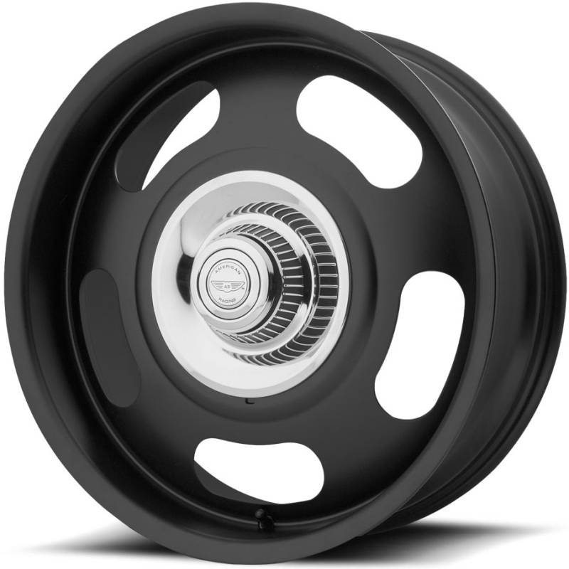 American Racing VN506 Rally Satin Black Wheels
