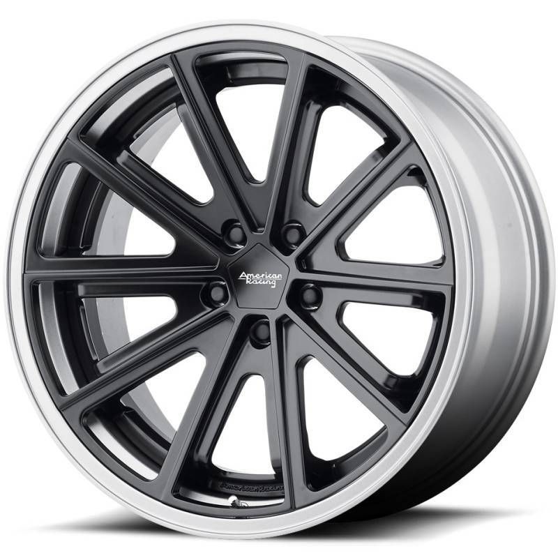 American Racing VN901 427 X Black Wheels