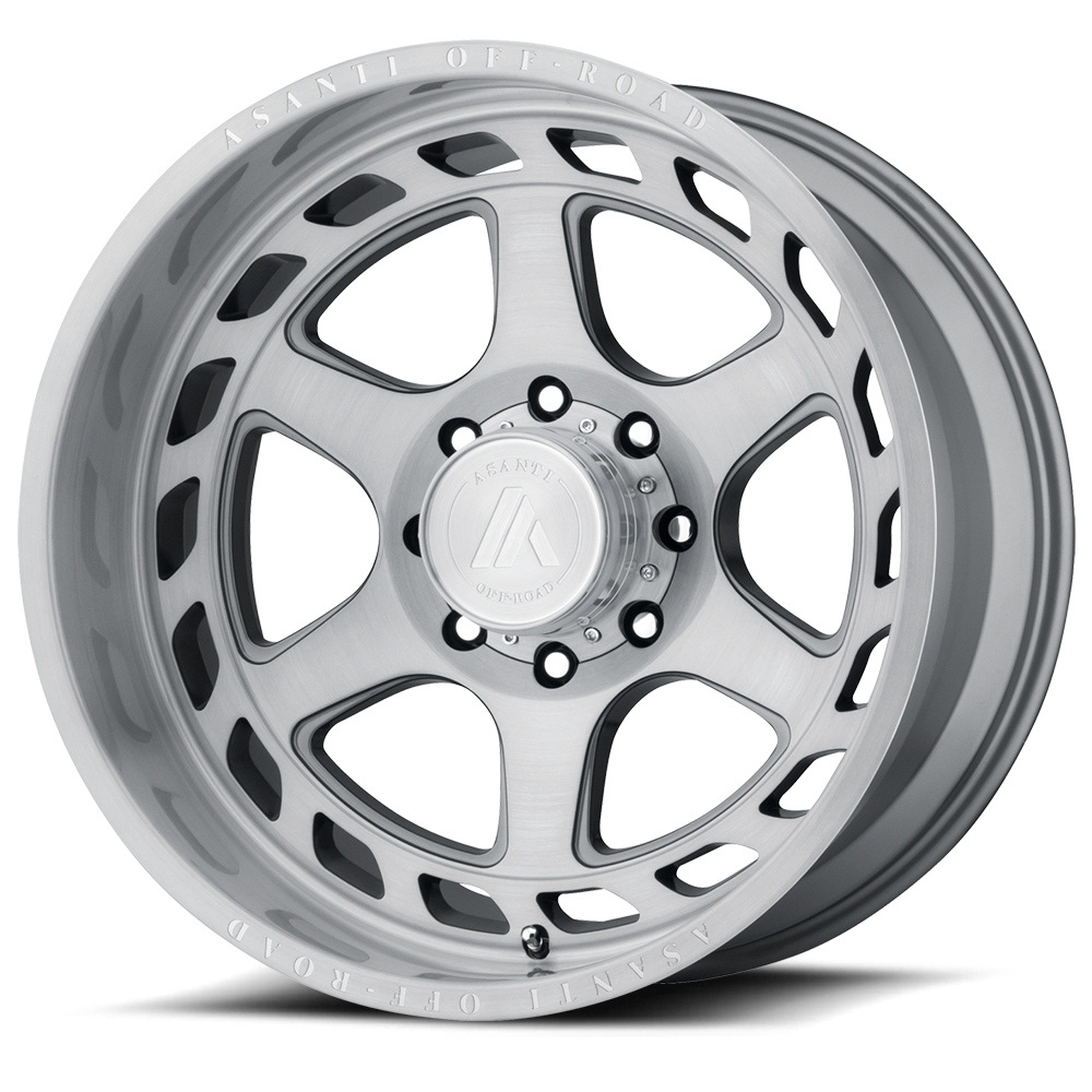 Asanti AB816 Titanium Brushed Wheels