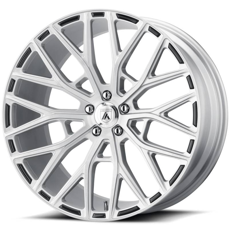 Asanti ABL-21 Brushed Silver Wheels