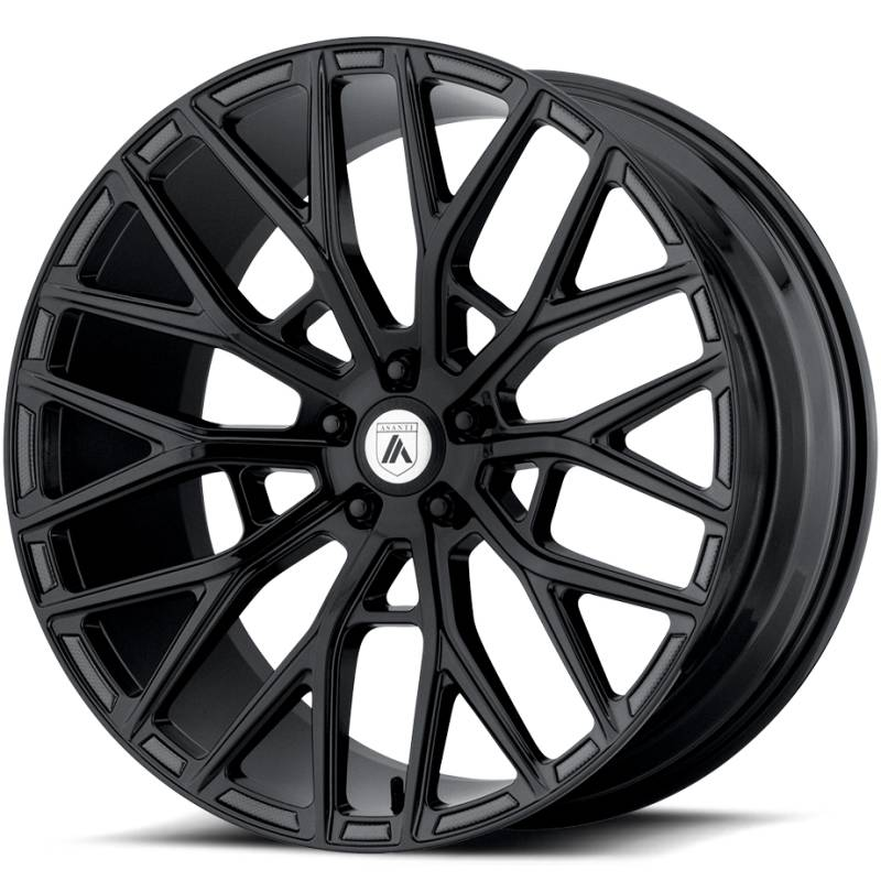 Asanti ABL-21 Gloss Black Wheels