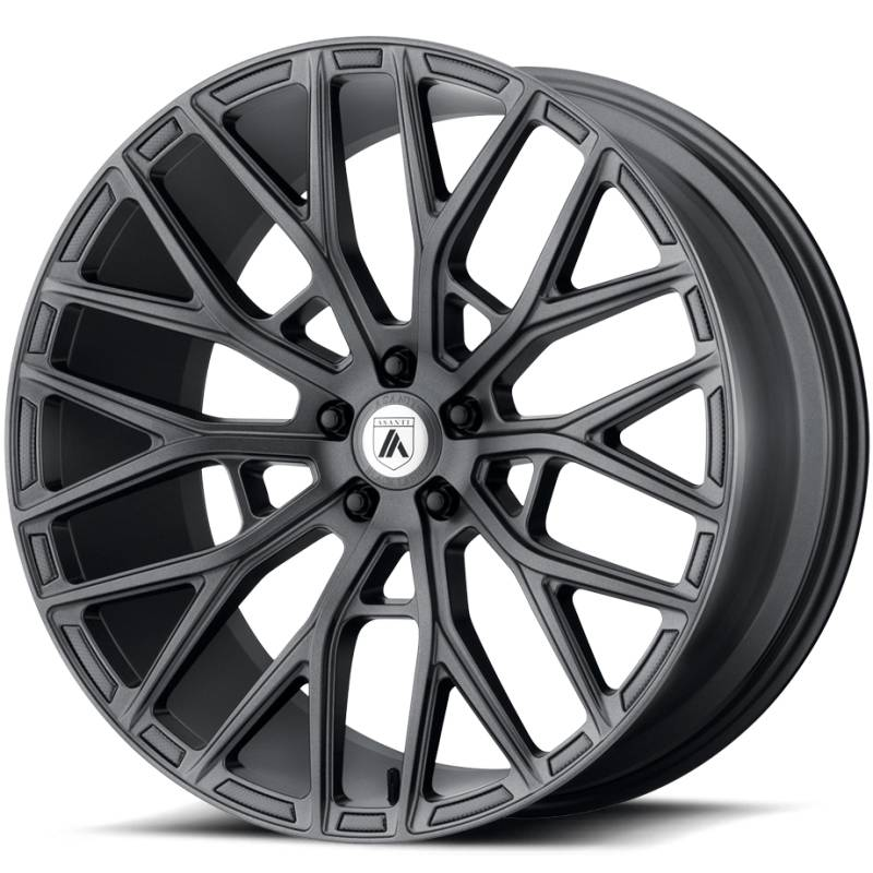 Asanti ABL-21 Matte Graphite Wheels