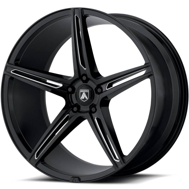 Asanti ABL-22 Gloss Black Wheels