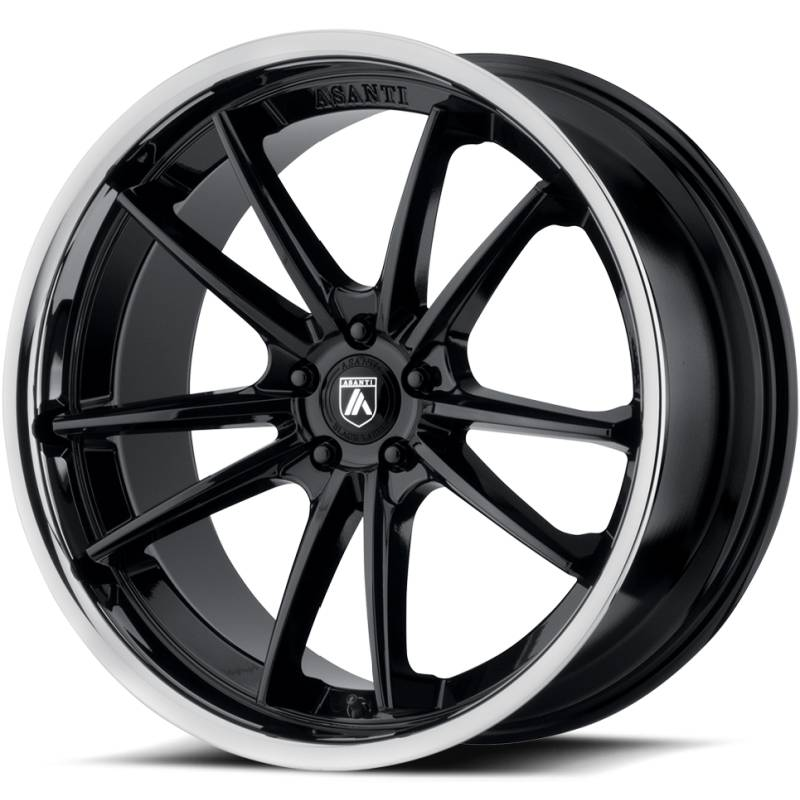 Asanti ABL-23 Gloss Black Wheels