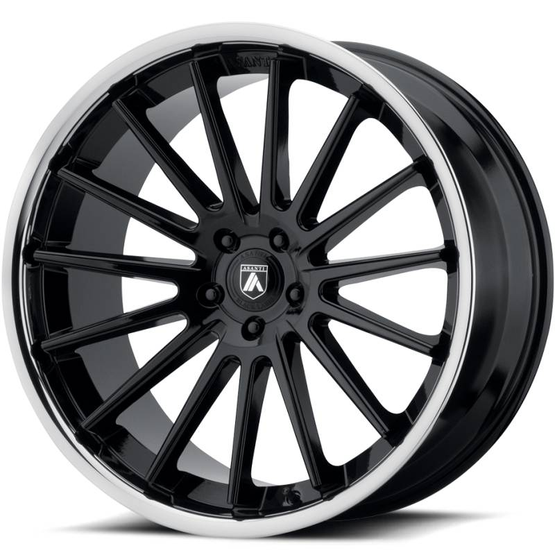 Asanti ABL-24 Gloss Black Wheels