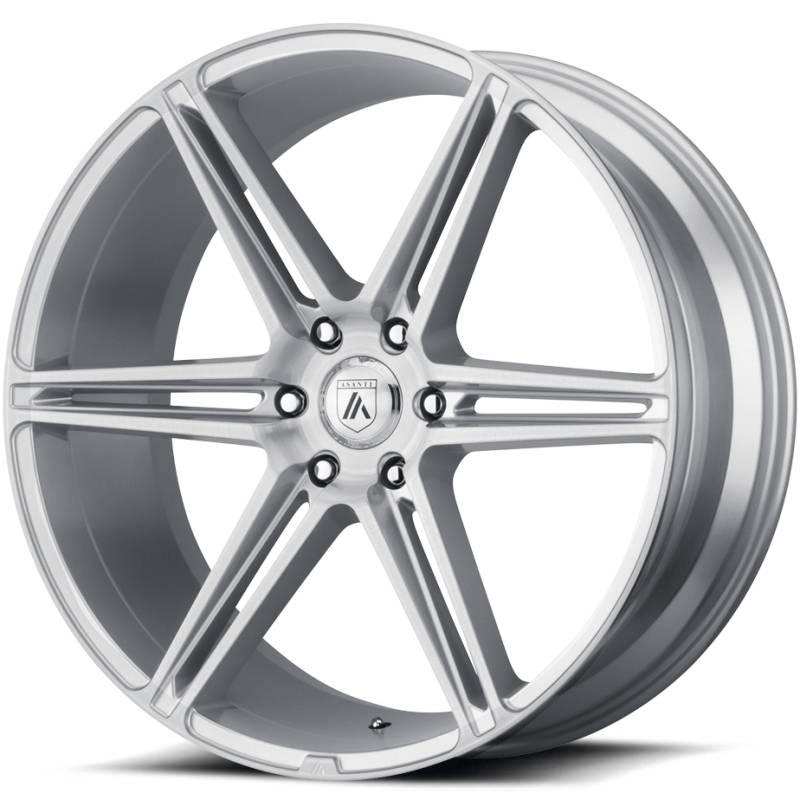 Asanti ABL-25 Brushed Silver Wheels
