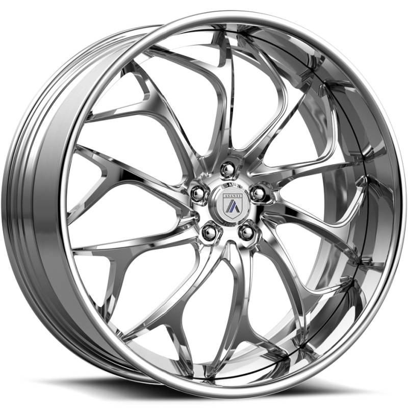 Asanti ELT878 Polished Wheels