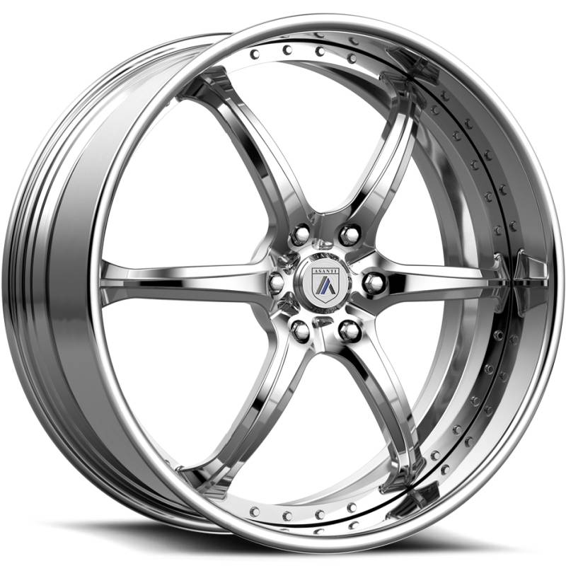 Asanti ELT879 Polished Wheels